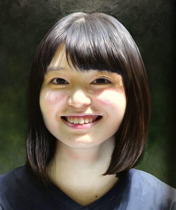 因画了一幅水中的女子,日本80后小伙成了新晋绘画大神插图19