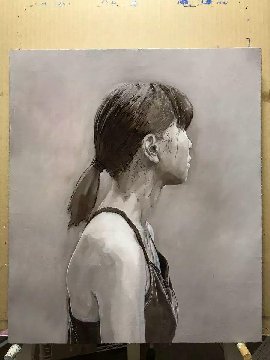 因画了一幅水中的女子,日本80后小伙成了新晋绘画大神插图39