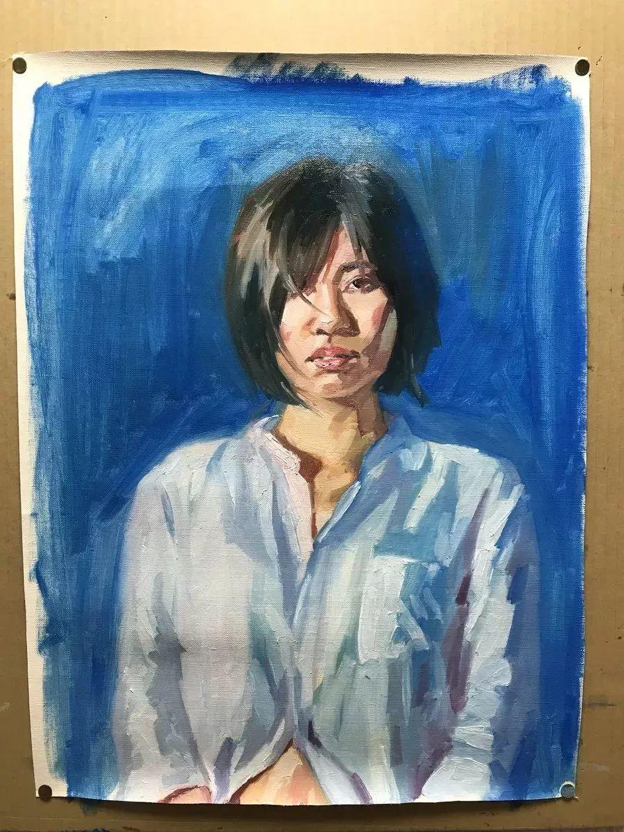 因画了一幅水中的女子,日本80后小伙成了新晋绘画大神插图45