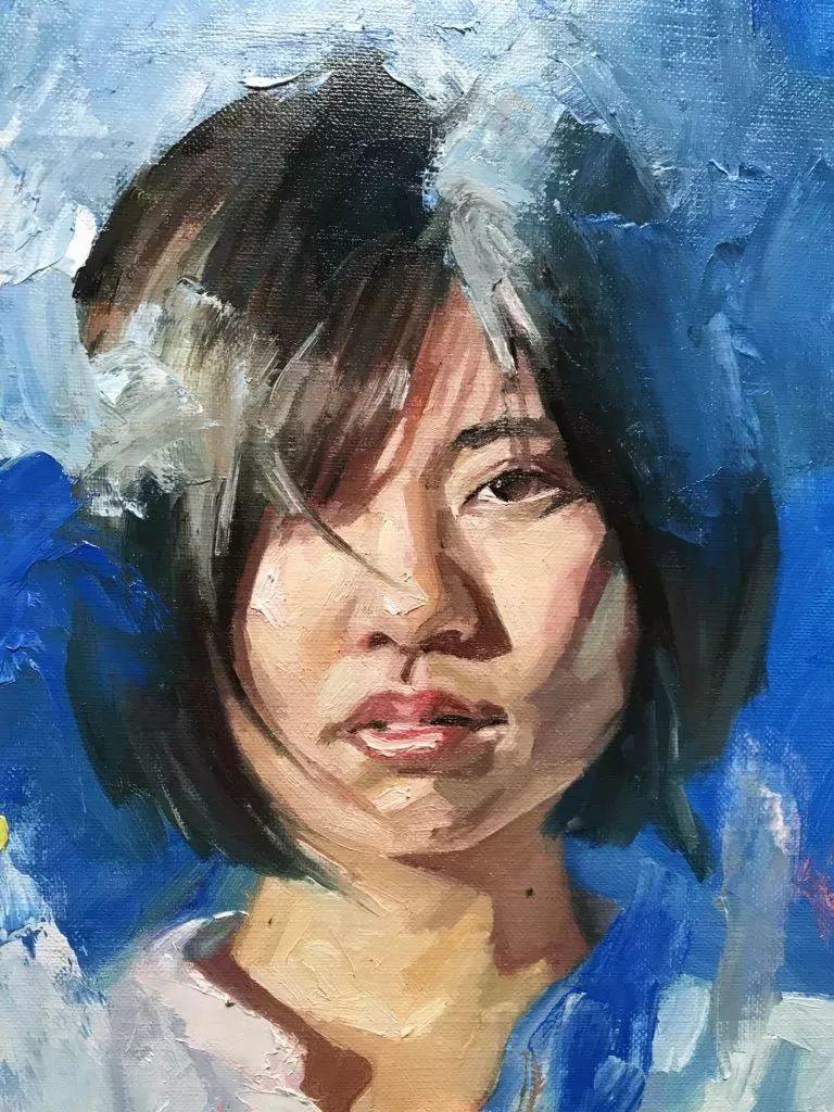 因画了一幅水中的女子,日本80后小伙成了新晋绘画大神插图47