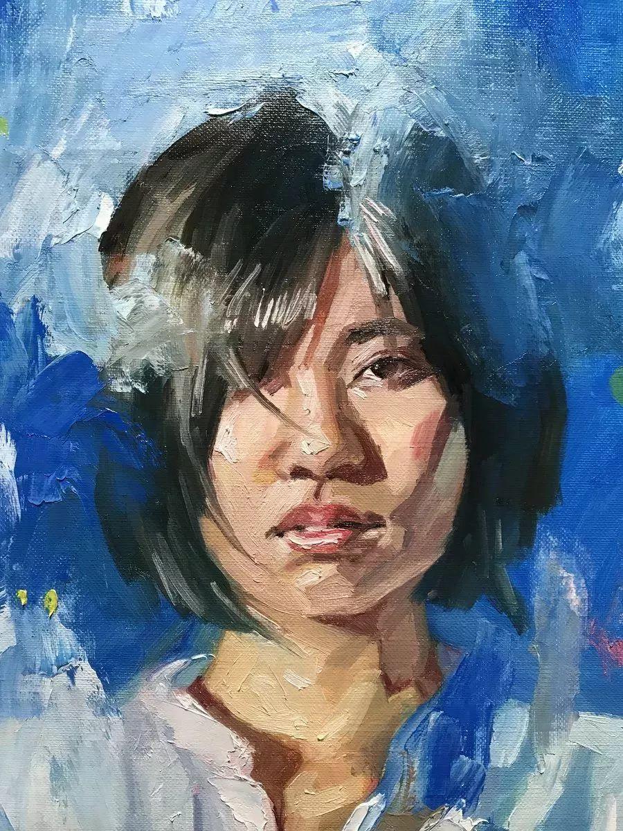 因画了一幅水中的女子,日本80后小伙成了新晋绘画大神插图49
