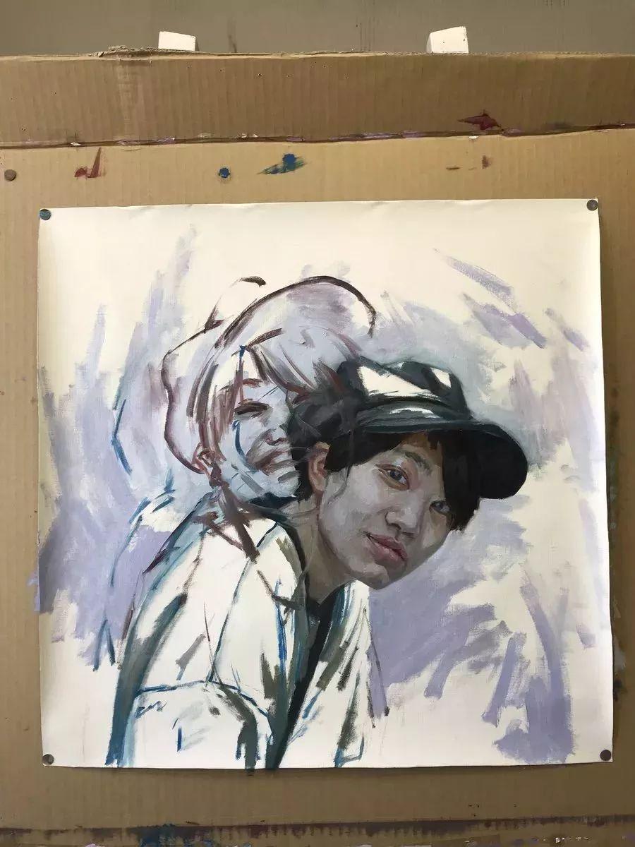 因画了一幅水中的女子,日本80后小伙成了新晋绘画大神插图53