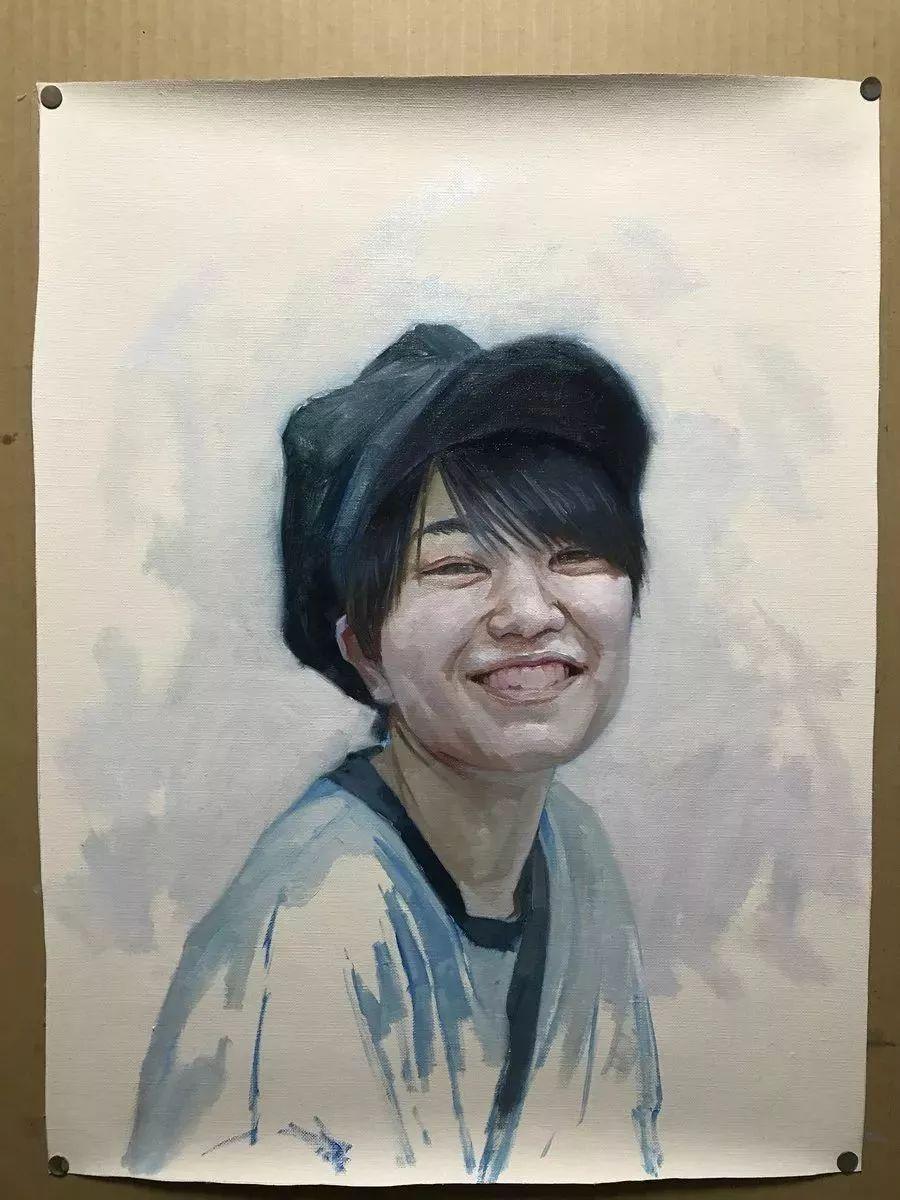 因画了一幅水中的女子,日本80后小伙成了新晋绘画大神插图57