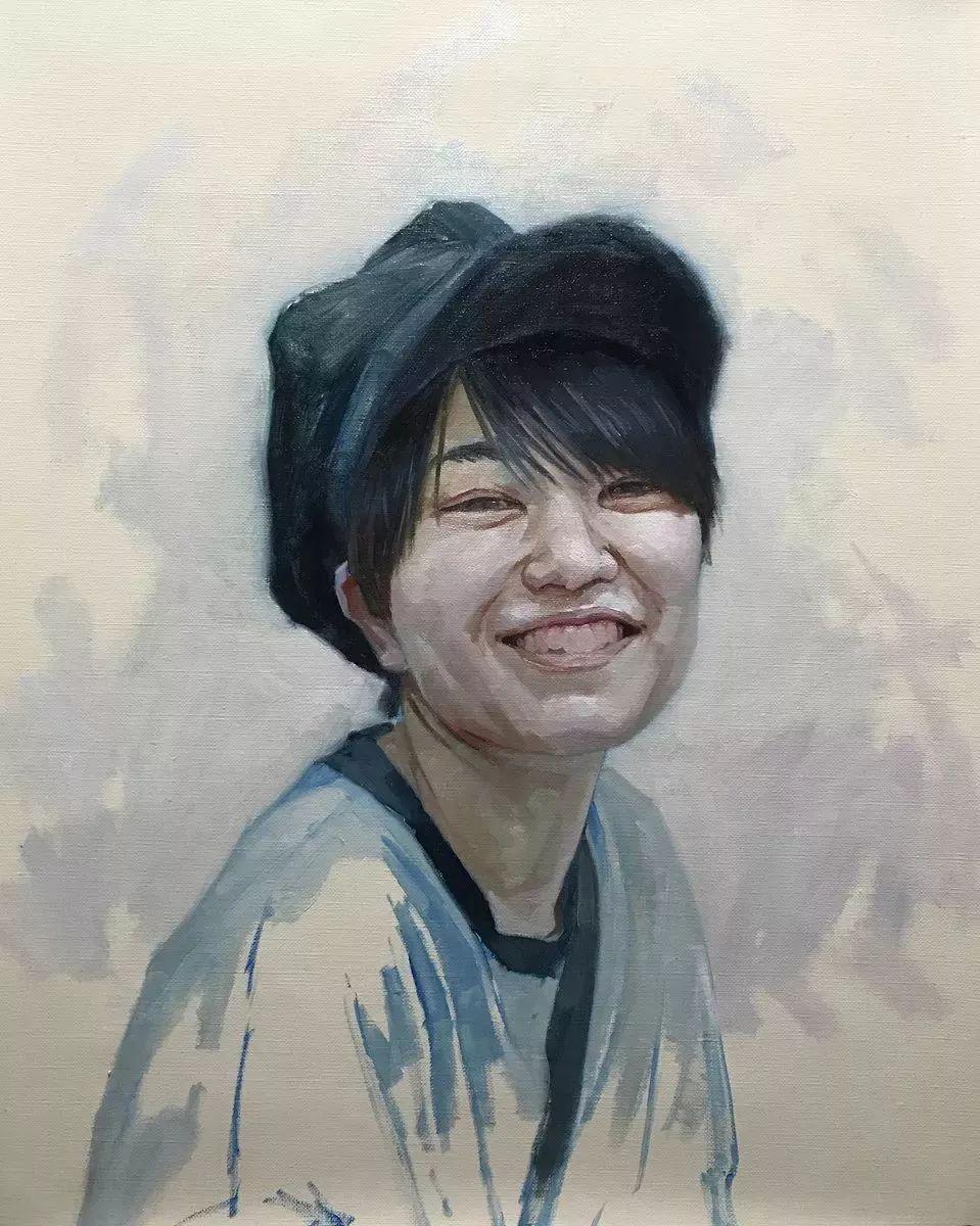 因画了一幅水中的女子,日本80后小伙成了新晋绘画大神插图59