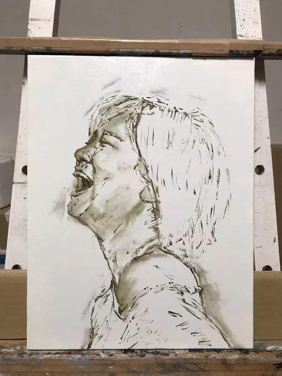 因画了一幅水中的女子,日本80后小伙成了新晋绘画大神插图61