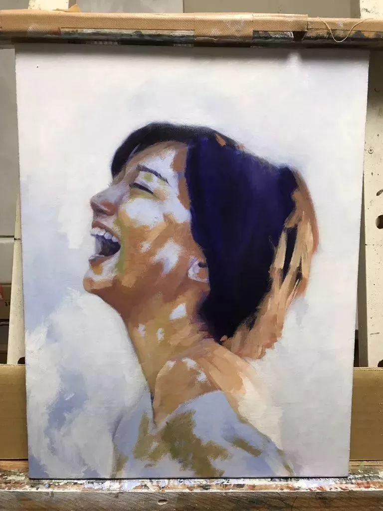 因画了一幅水中的女子,日本80后小伙成了新晋绘画大神插图73