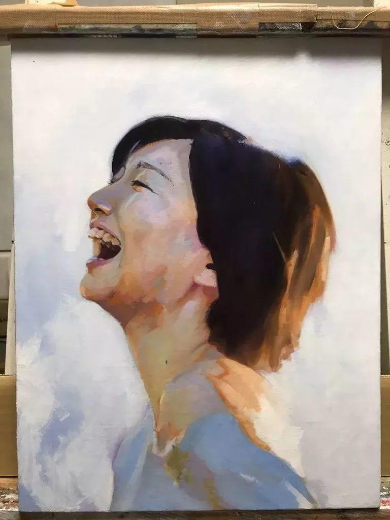 因画了一幅水中的女子,日本80后小伙成了新晋绘画大神插图75