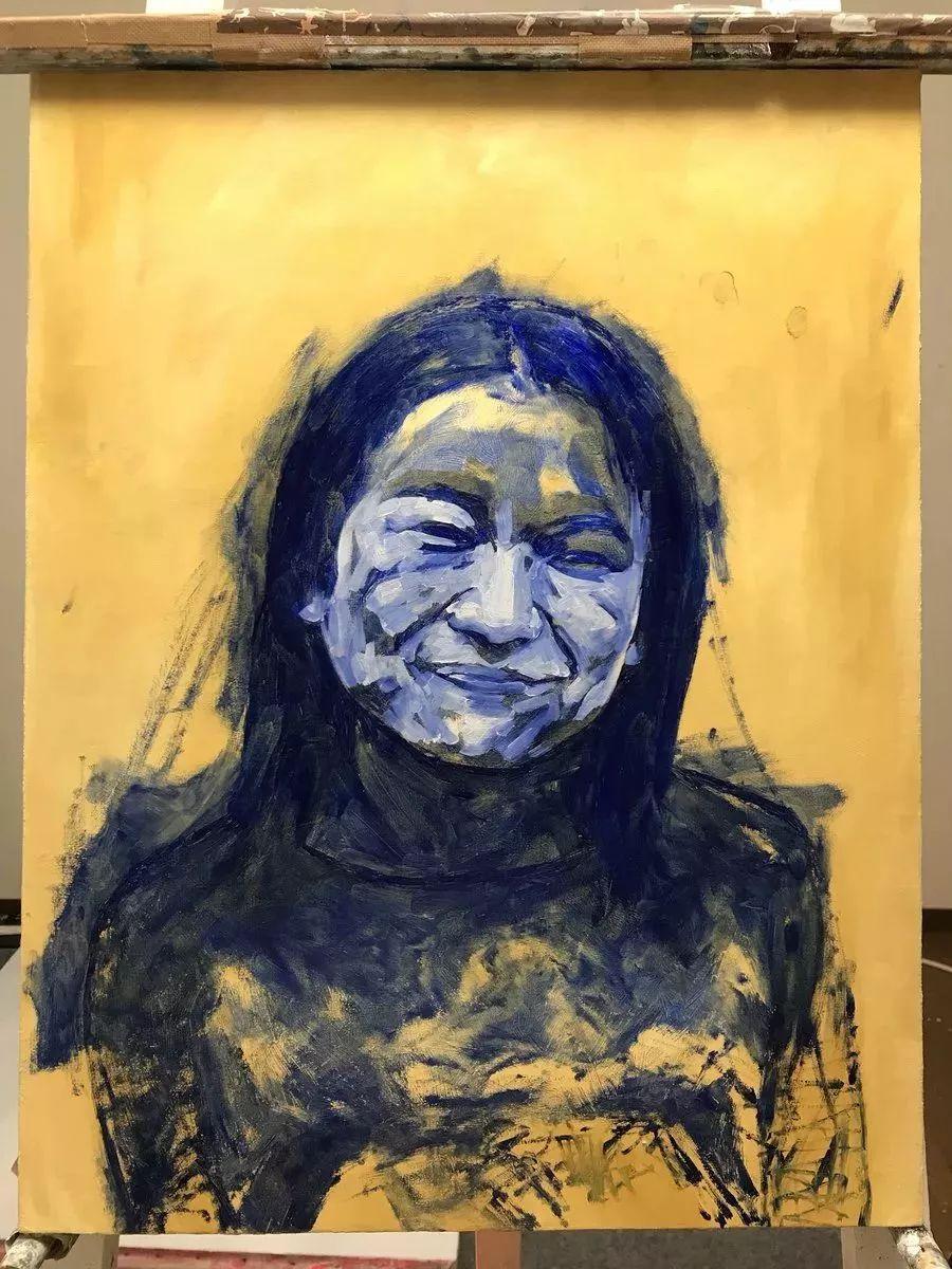 因画了一幅水中的女子,日本80后小伙成了新晋绘画大神插图91