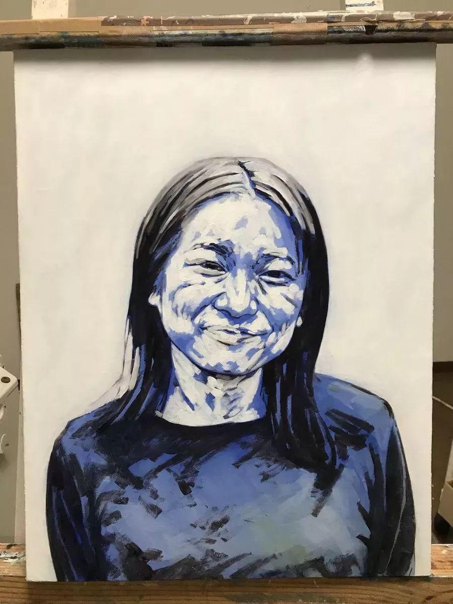 因画了一幅水中的女子,日本80后小伙成了新晋绘画大神插图93