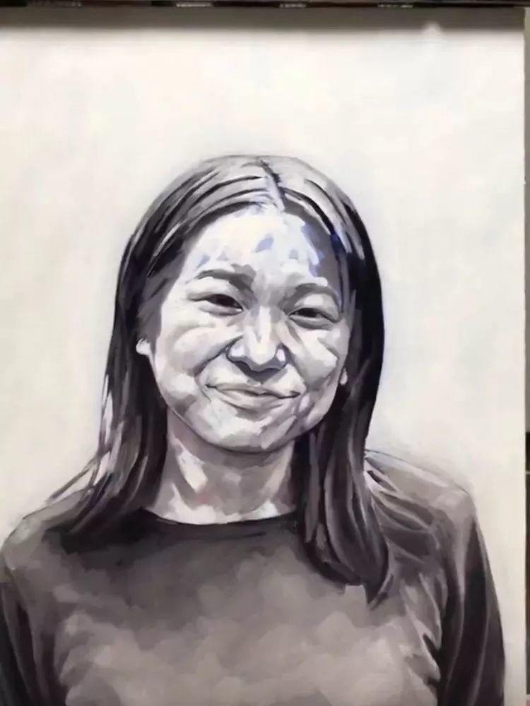 因画了一幅水中的女子,日本80后小伙成了新晋绘画大神插图95