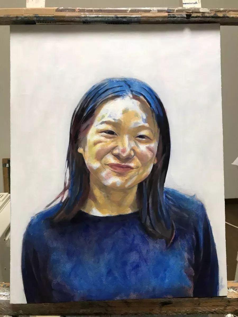 因画了一幅水中的女子,日本80后小伙成了新晋绘画大神插图99