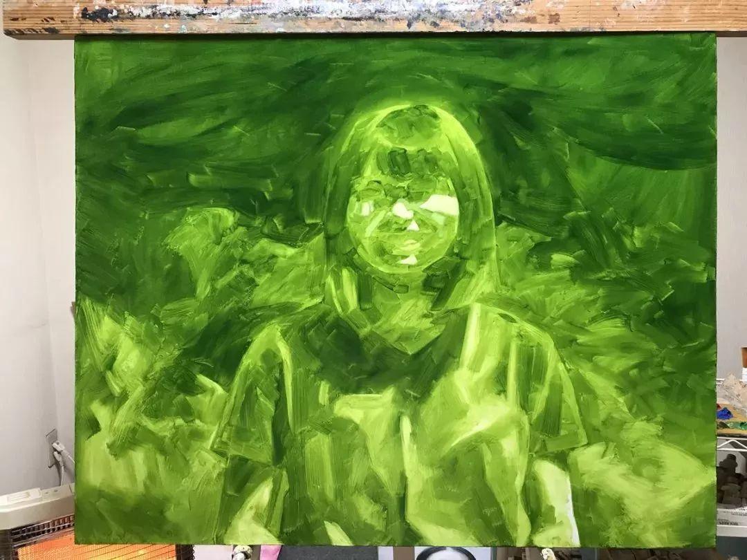 因画了一幅水中的女子,日本80后小伙成了新晋绘画大神插图107