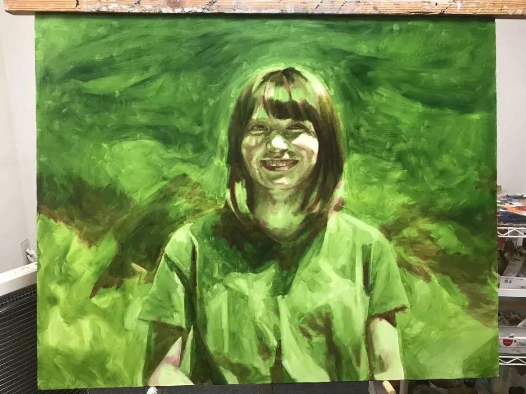 因画了一幅水中的女子,日本80后小伙成了新晋绘画大神插图109