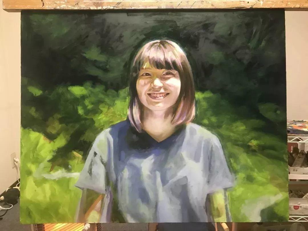 因画了一幅水中的女子,日本80后小伙成了新晋绘画大神插图111