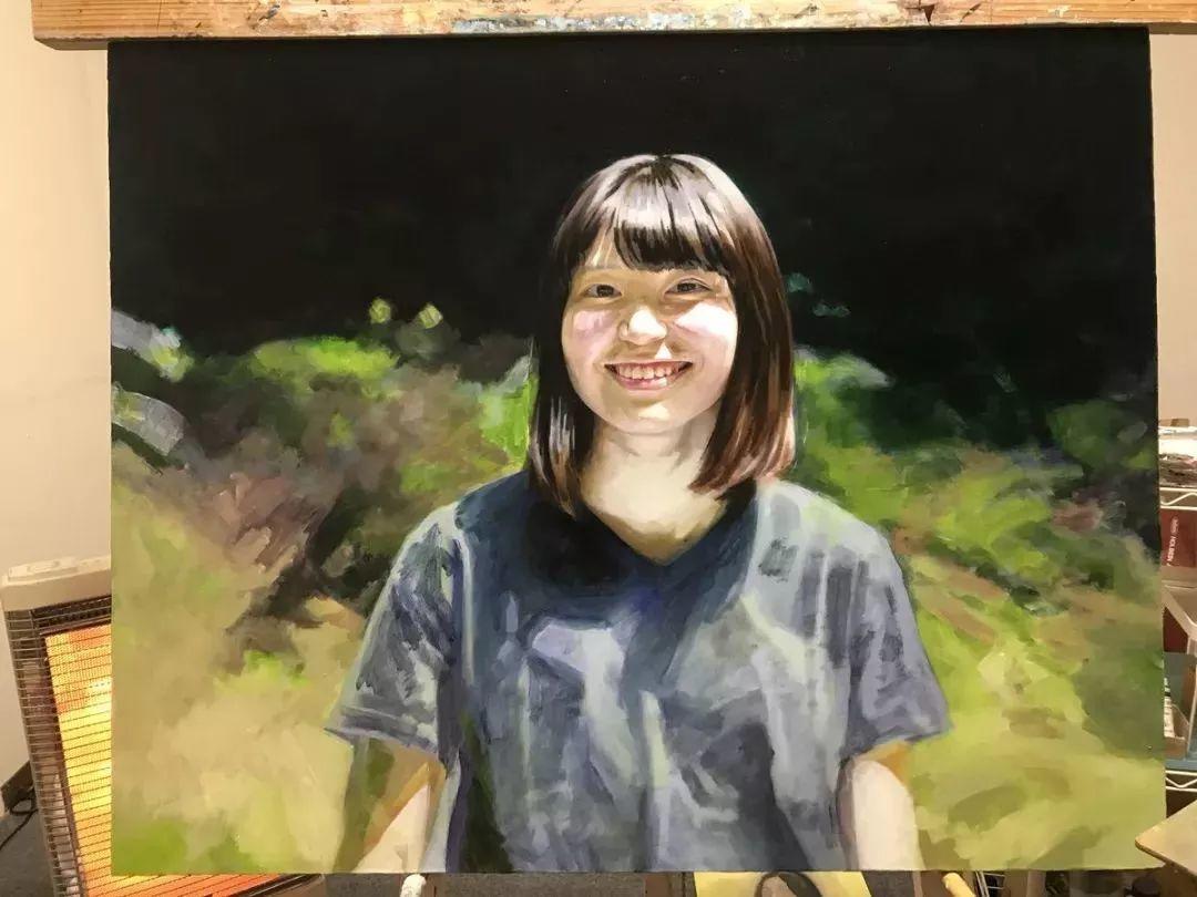 因画了一幅水中的女子,日本80后小伙成了新晋绘画大神插图113