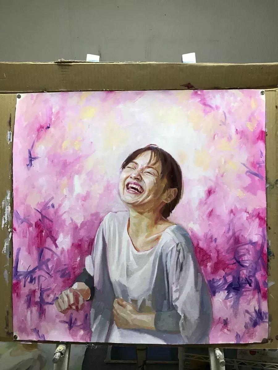因画了一幅水中的女子,日本80后小伙成了新晋绘画大神插图119