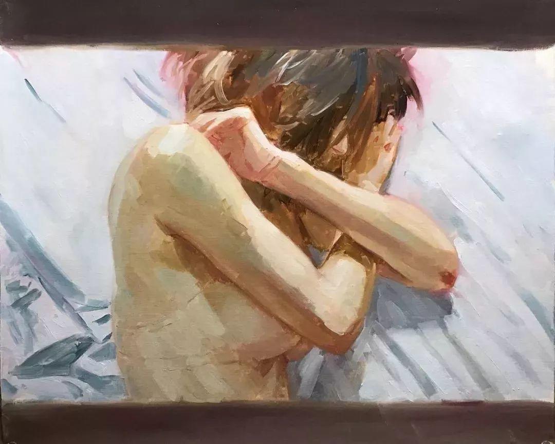 因画了一幅水中的女子,日本80后小伙成了新晋绘画大神插图121