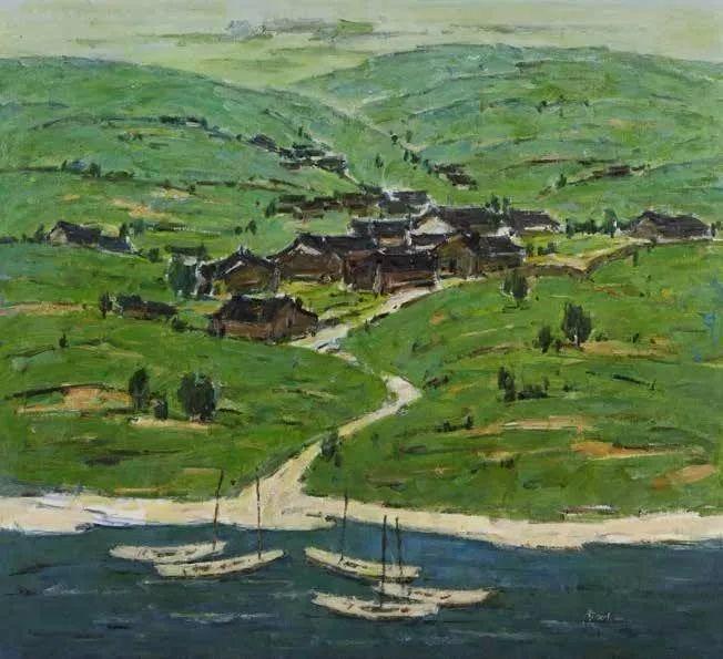 纪念中俄建交70周年油画作品展(二)插图31