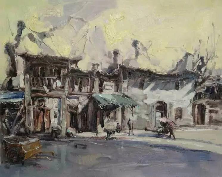 纪念中俄建交70周年油画作品展(二)插图51