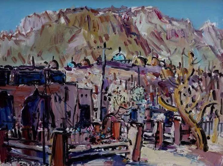 纪念中俄建交70周年油画作品展(二)插图67
