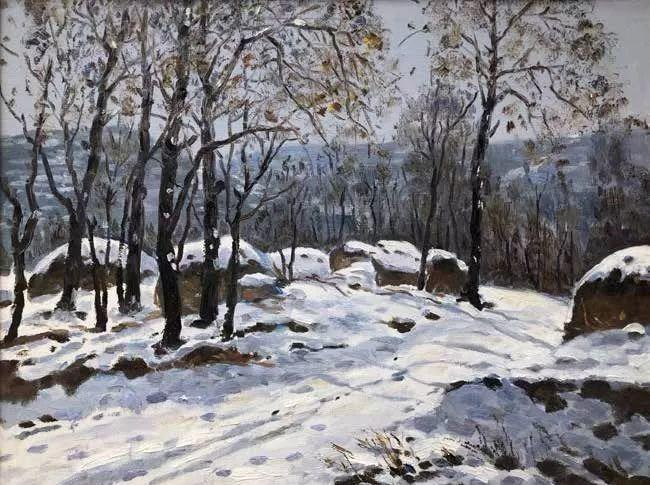 纪念中俄建交70周年油画作品展(二)插图83