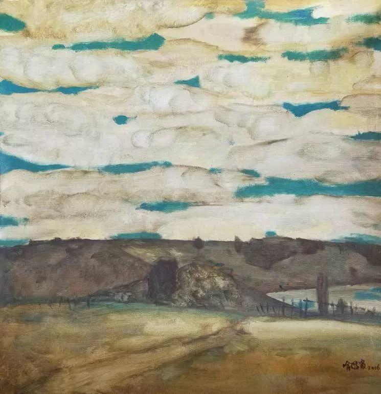 纪念中俄建交70周年油画作品展(二)插图107