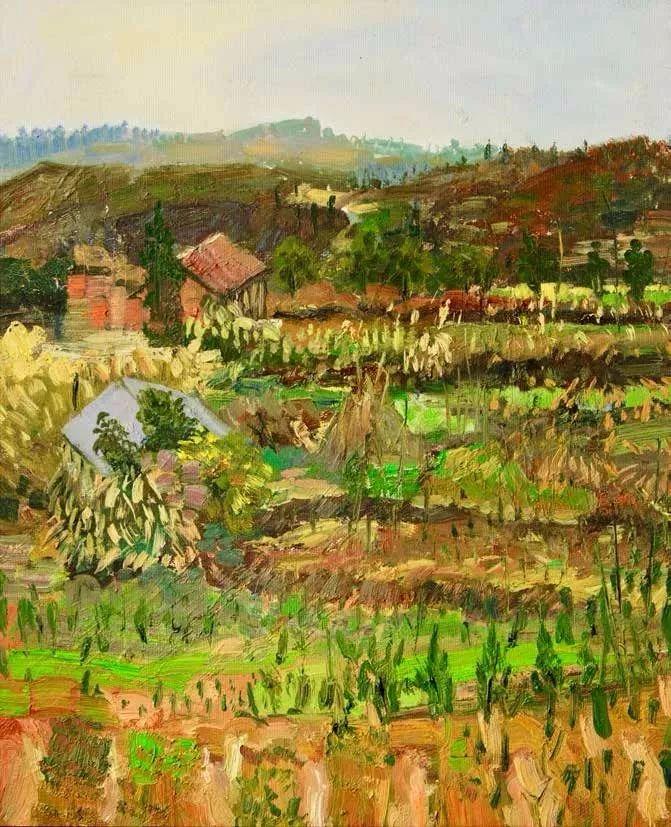 纪念中俄建交70周年油画作品展(二)插图147