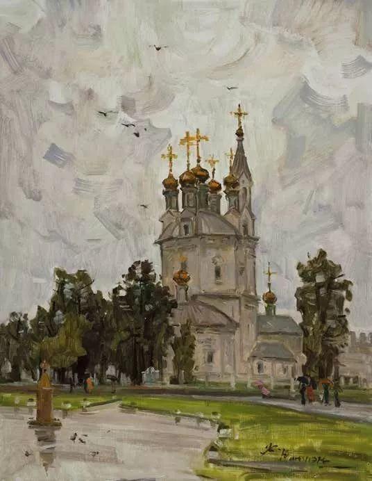 纪念中俄建交70周年油画作品展(二)插图155