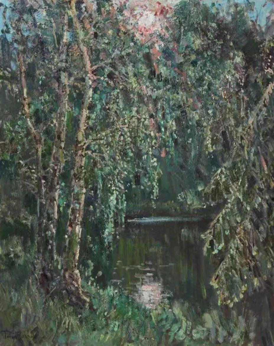 纪念中俄建交70周年油画作品展(二)插图171