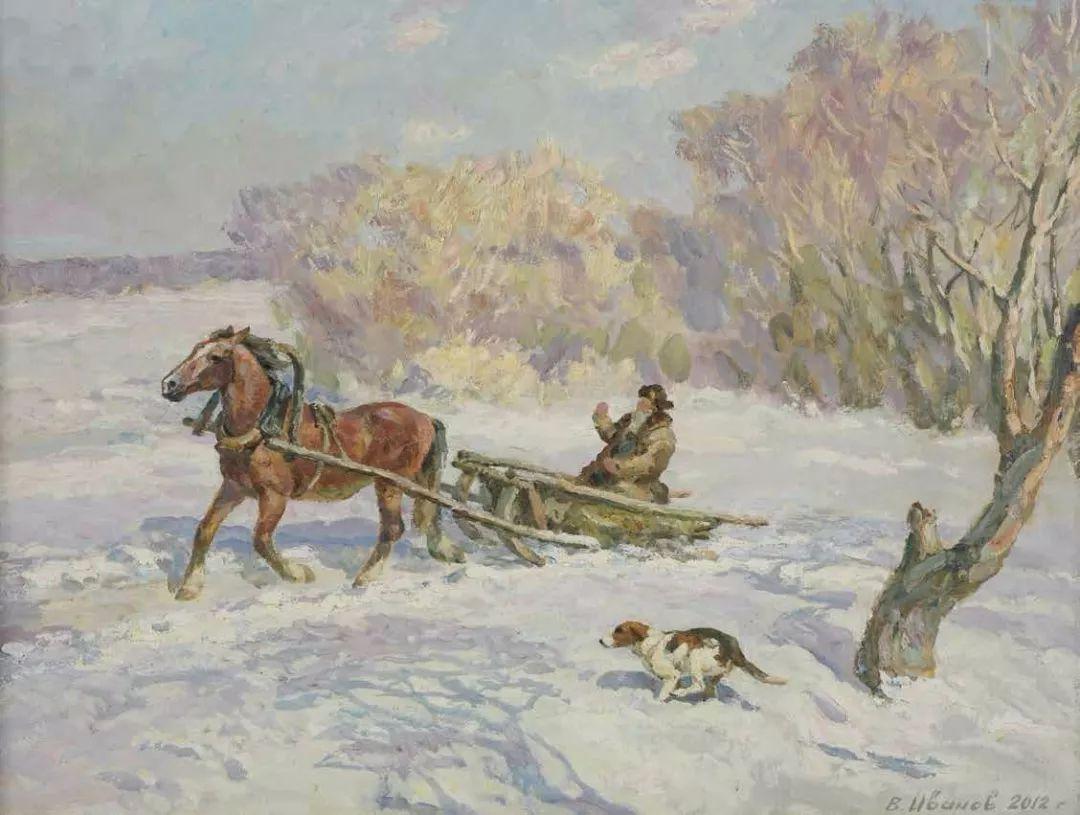 纪念中俄建交70周年油画作品展(二)插图183