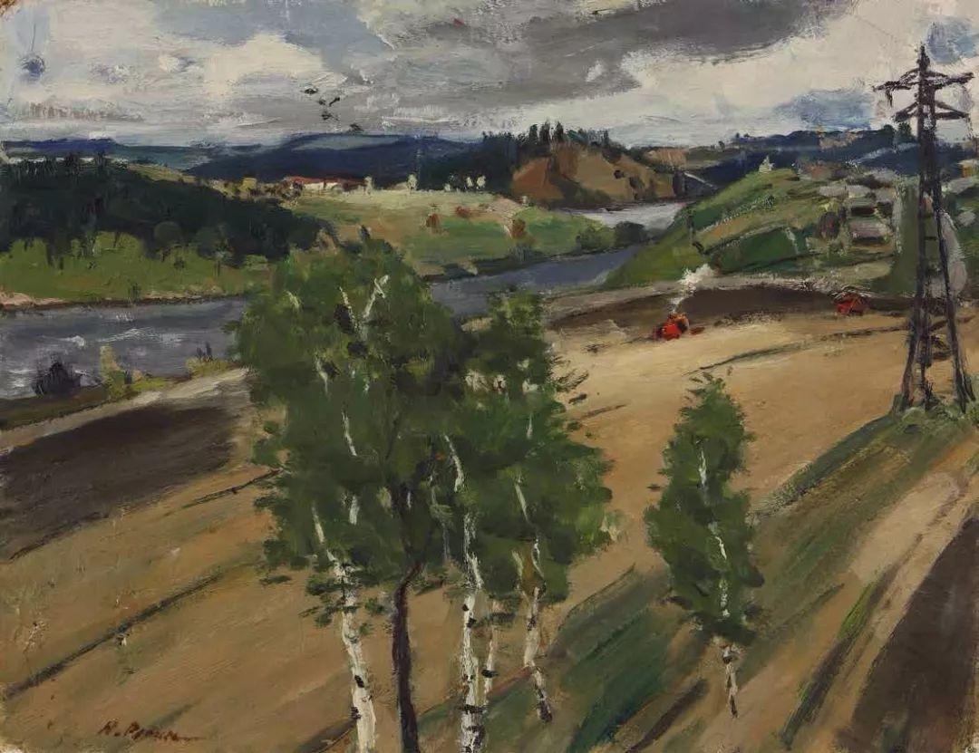 纪念中俄建交70周年油画作品展(二)插图187