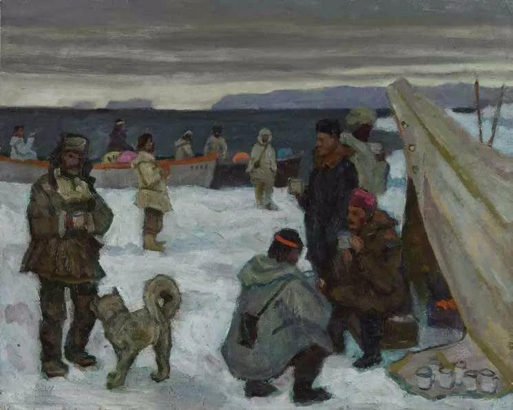 纪念中俄建交70周年油画作品展(二)插图207