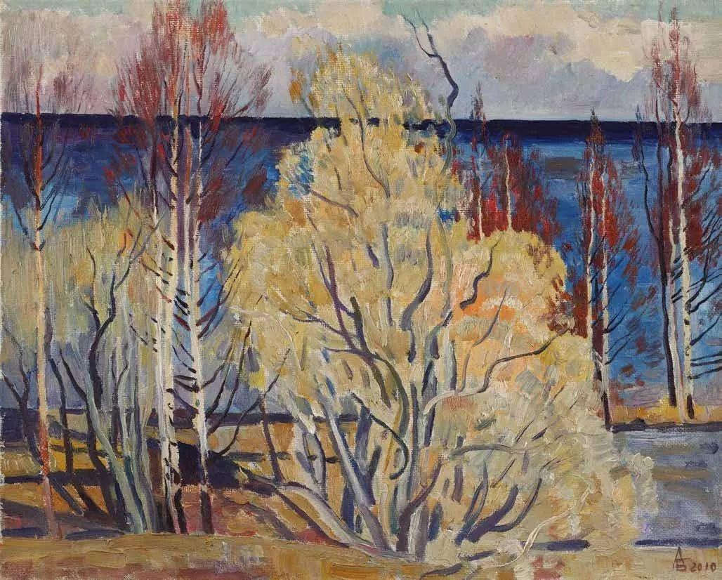 纪念中俄建交70周年油画作品展(二)插图215