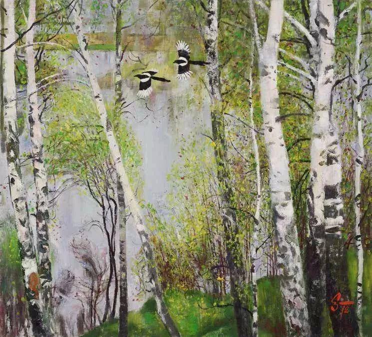 纪念中俄建交70周年油画作品展(二)插图227