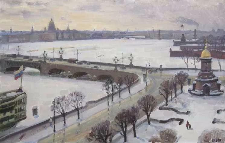 纪念中俄建交70周年油画作品展(二)插图251