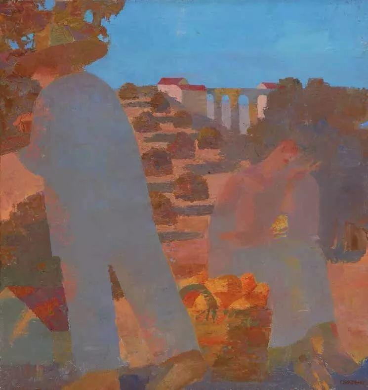 纪念中俄建交70周年油画作品展(二)插图257