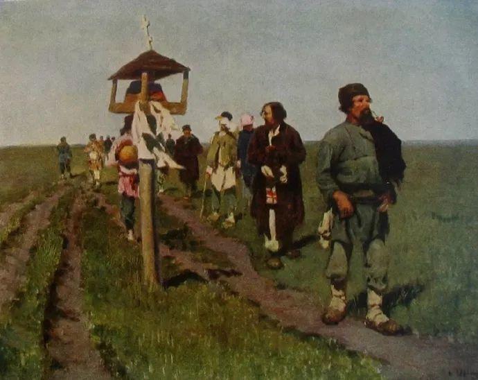俄罗斯-伊万诺夫,巡回展览画派的第二代画家插图9