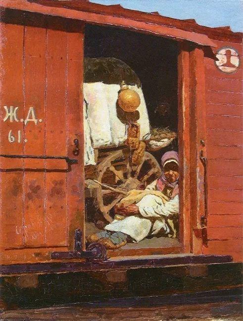 俄罗斯-伊万诺夫,巡回展览画派的第二代画家插图13