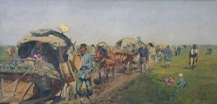 俄罗斯-伊万诺夫,巡回展览画派的第二代画家插图15