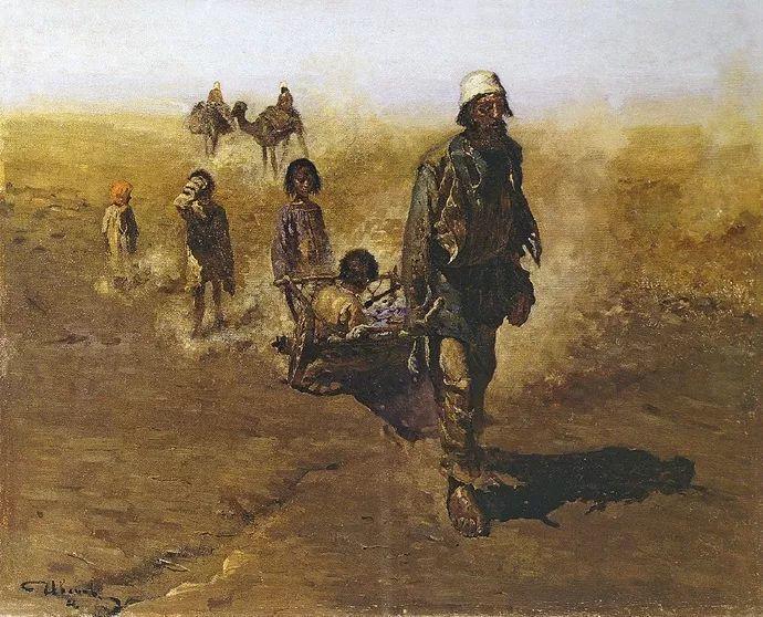 俄罗斯-伊万诺夫,巡回展览画派的第二代画家插图17