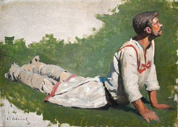 俄罗斯-伊万诺夫,巡回展览画派的第二代画家插图23