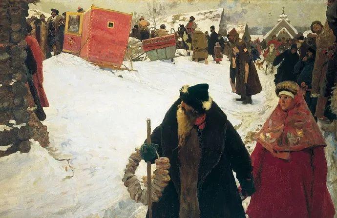 俄罗斯-伊万诺夫,巡回展览画派的第二代画家插图25
