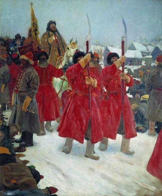 俄罗斯-伊万诺夫,巡回展览画派的第二代画家插图27