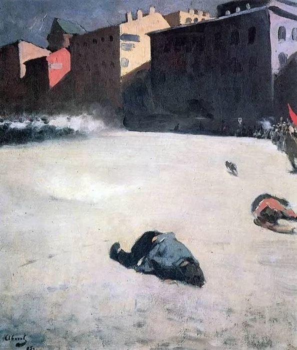 俄罗斯-伊万诺夫,巡回展览画派的第二代画家插图33