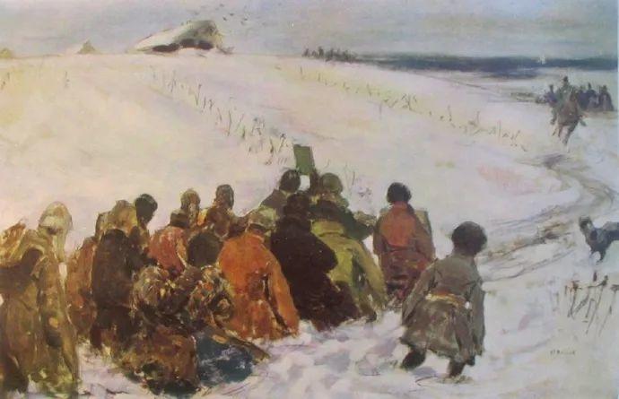 俄罗斯-伊万诺夫,巡回展览画派的第二代画家插图35