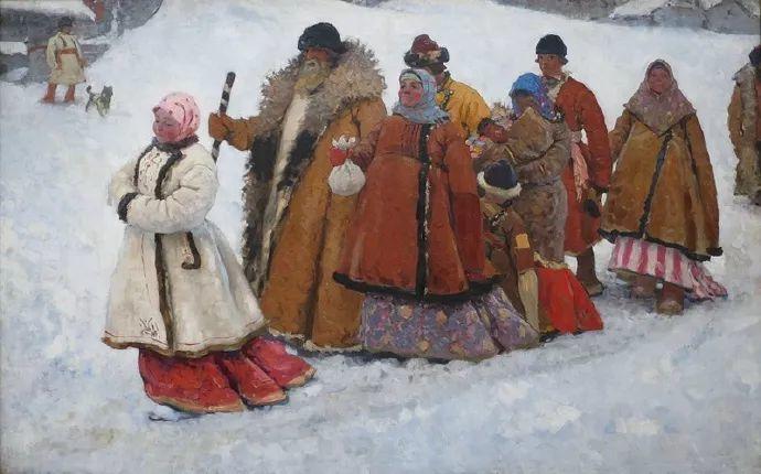 俄罗斯-伊万诺夫,巡回展览画派的第二代画家插图39