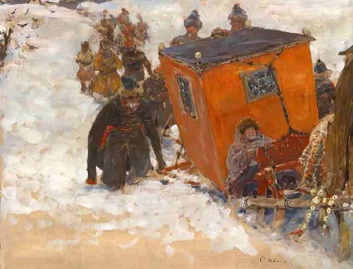 俄罗斯-伊万诺夫,巡回展览画派的第二代画家插图41