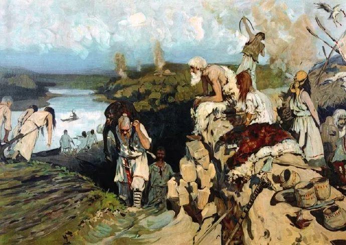 俄罗斯-伊万诺夫,巡回展览画派的第二代画家插图55