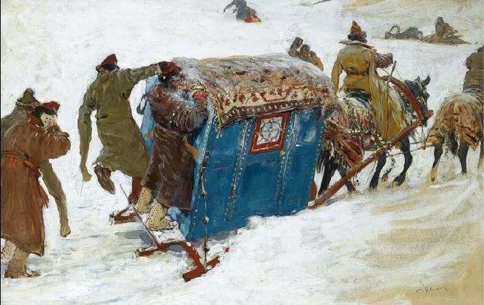 俄罗斯-伊万诺夫,巡回展览画派的第二代画家插图57