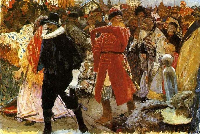俄罗斯-伊万诺夫,巡回展览画派的第二代画家插图63